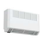 High level fan assisted heaters
